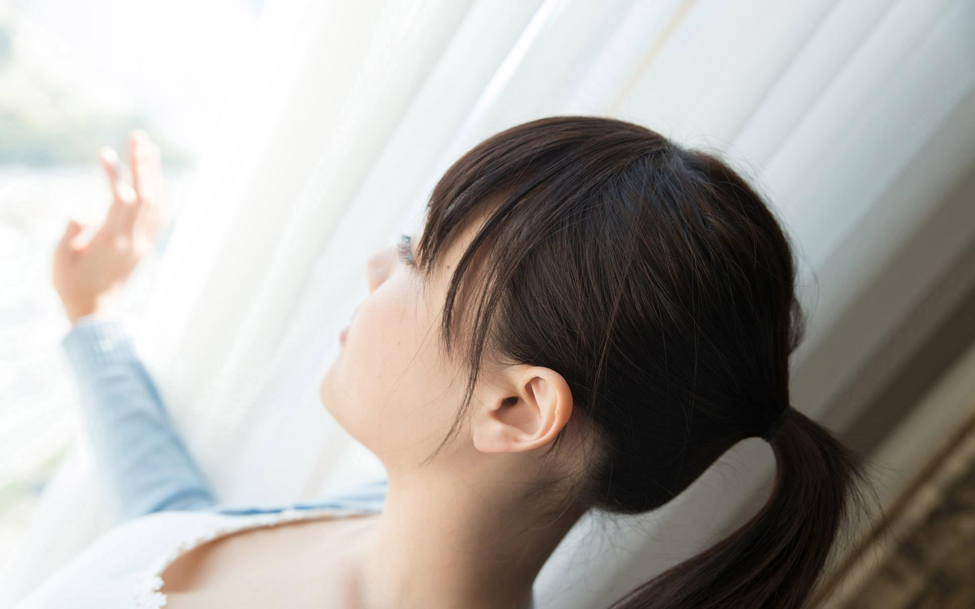 浜崎真緒(はまさきまお) ロリ顔ポニーテール、色白柔らかそうなおっぱいに包まれるセックスAV女優画像 143枚 No.35