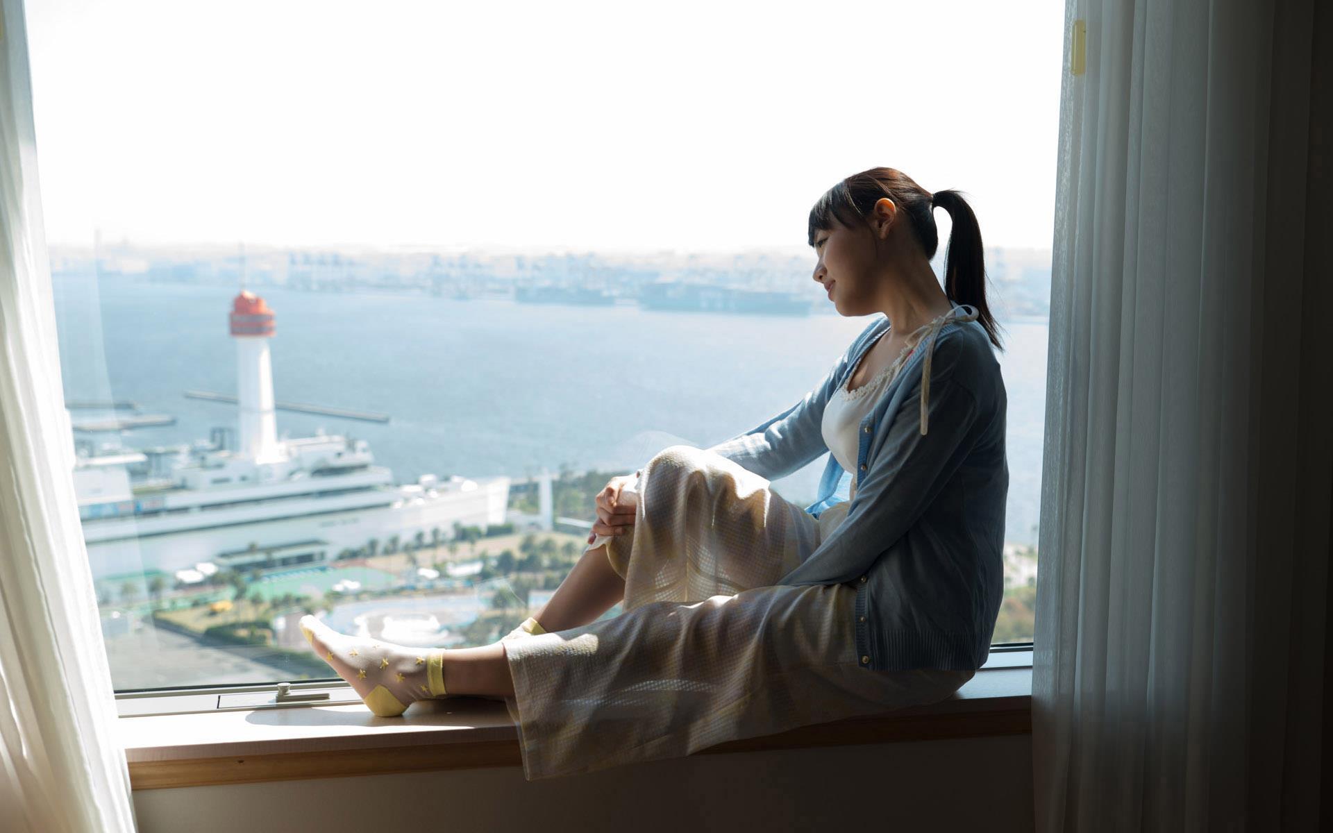 浜崎真緒(はまさきまお) ロリ顔ポニーテール、色白柔らかそうなおっぱいに包まれるセックスAV女優画像 143枚 No.37