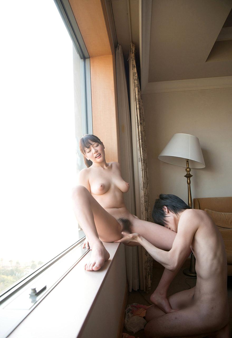 浜崎真緒(はまさきまお) ロリ顔ポニーテール、色白柔らかそうなおっぱいに包まれるセックスAV女優画像 143枚 No.54