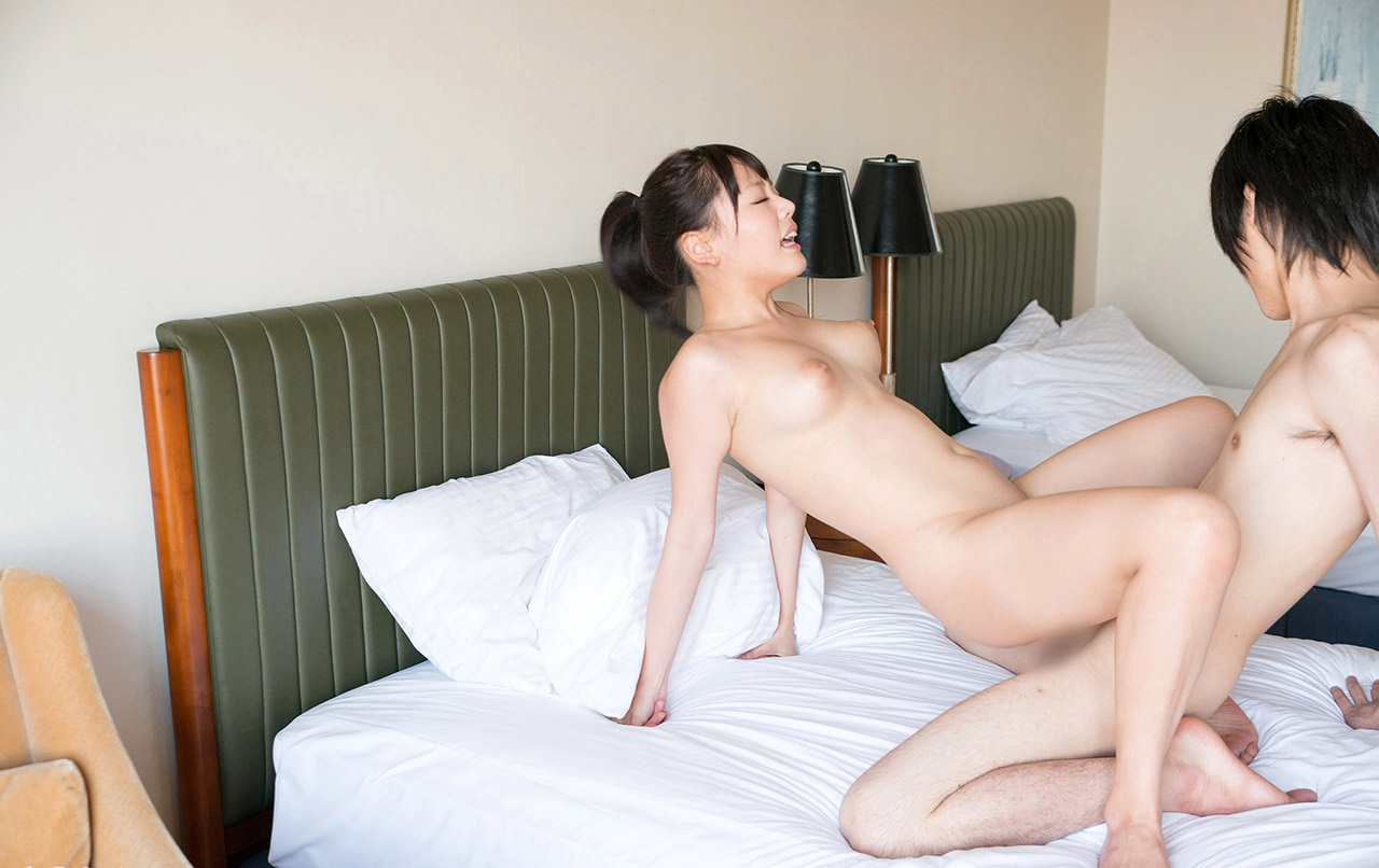 浜崎真緒(はまさきまお) ロリ顔ポニーテール、色白柔らかそうなおっぱいに包まれるセックスAV女優画像 143枚 No.62
