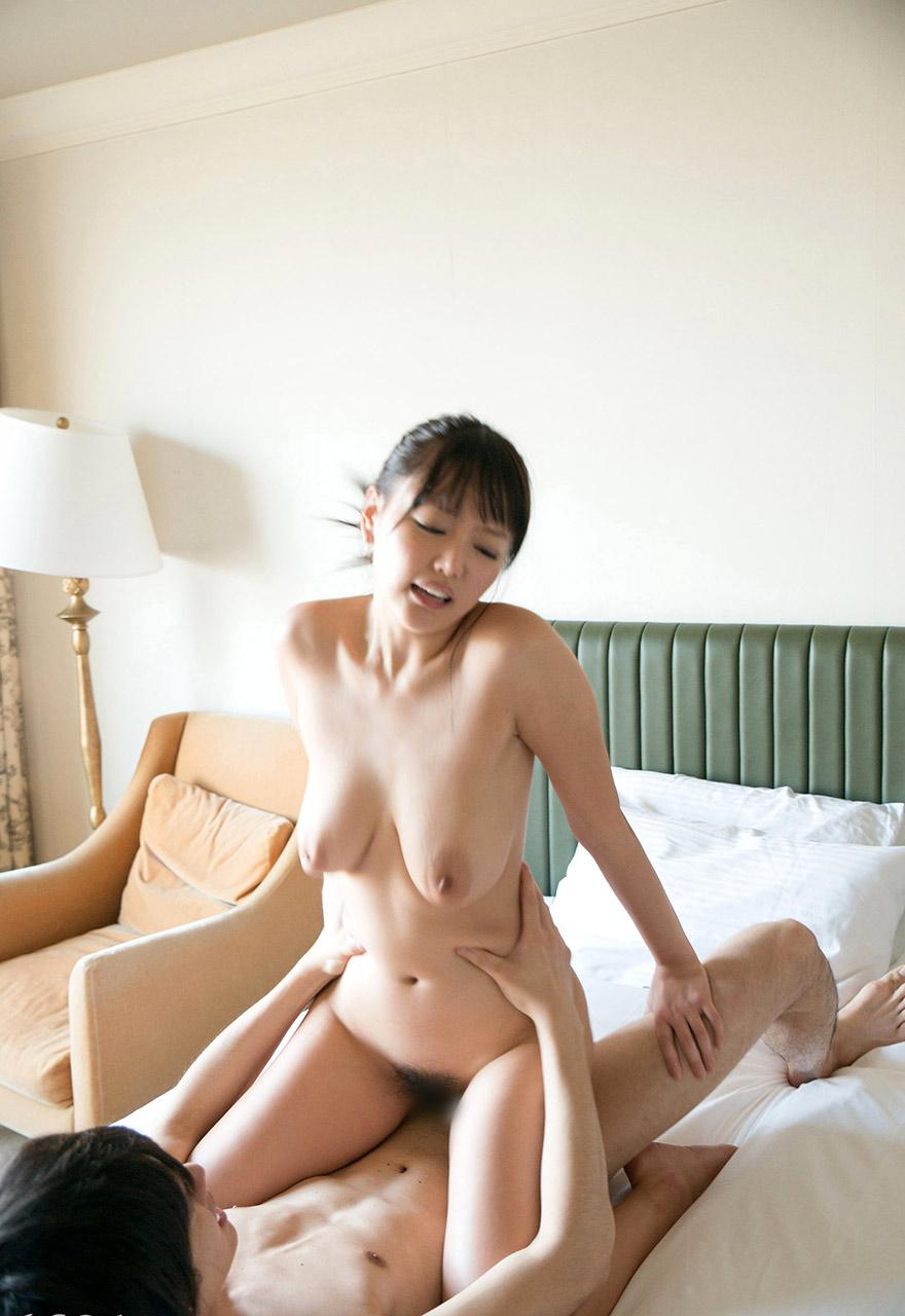 浜崎真緒(はまさきまお) ロリ顔ポニーテール、色白柔らかそうなおっぱいに包まれるセックスAV女優画像 143枚 No.68