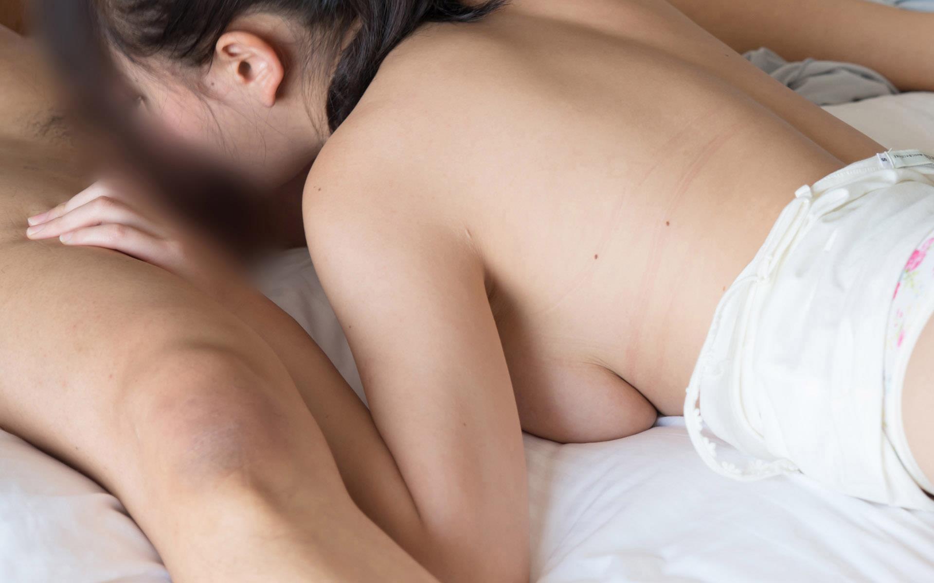 浜崎真緒(はまさきまお) ロリ顔ポニーテール、色白柔らかそうなおっぱいに包まれるセックスAV女優画像 143枚 No.84