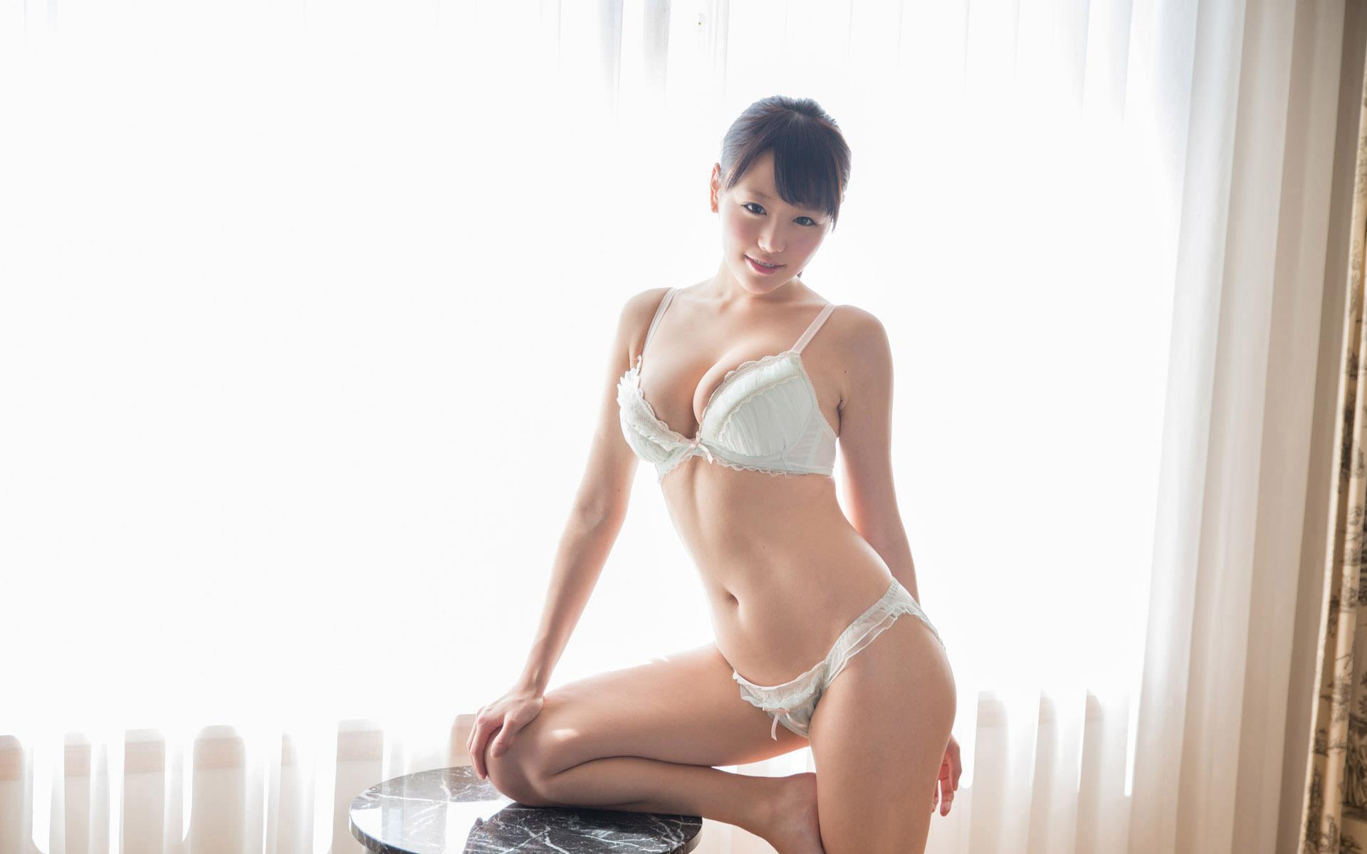 浜崎真緒(はまさきまお) ロリ顔ポニーテール、色白柔らかそうなおっぱいに包まれるセックスAV女優画像 143枚 No.119