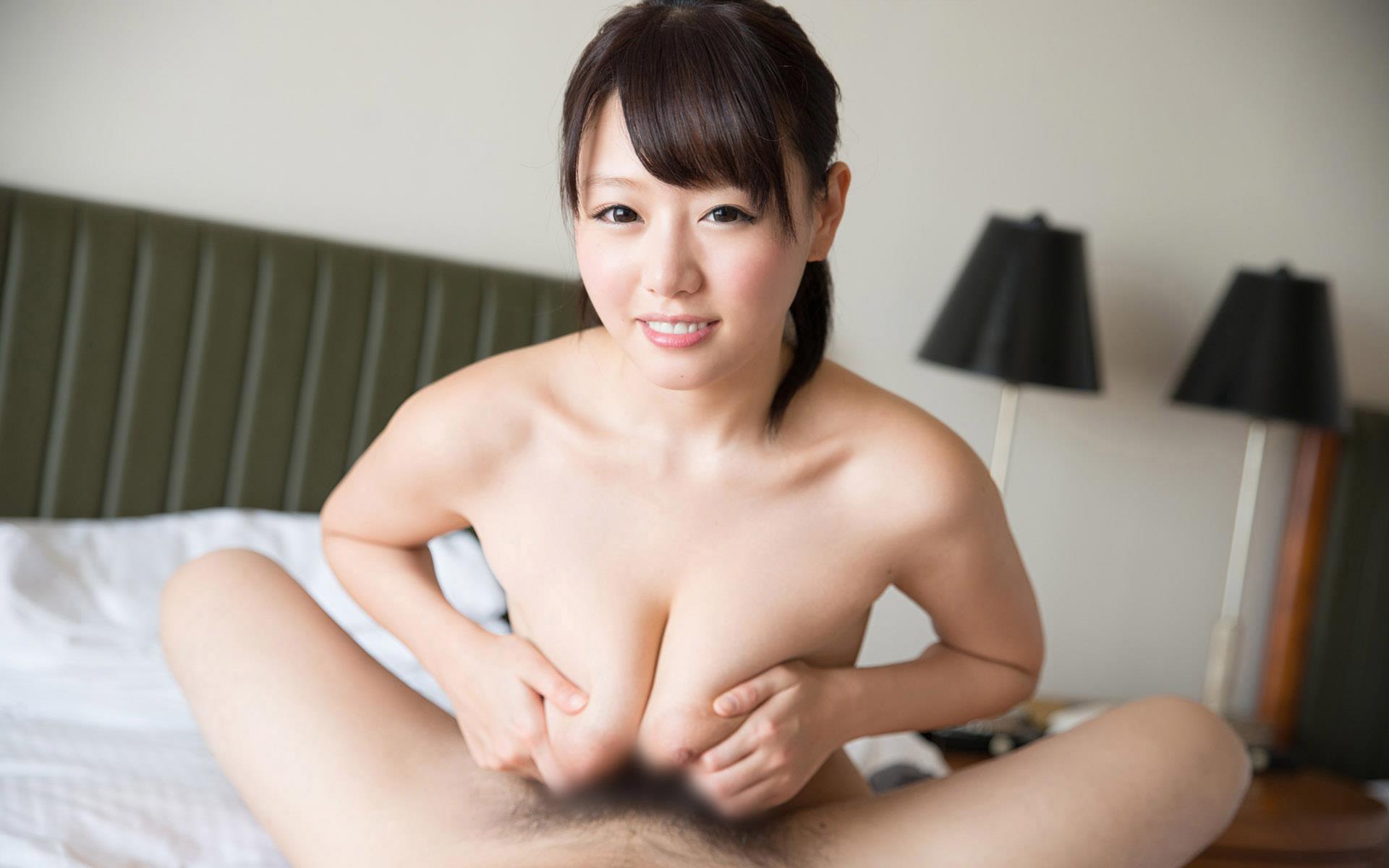 浜崎真緒(はまさきまお) ロリ顔ポニーテール、色白柔らかそうなおっぱいに包まれるセックスAV女優画像 143枚 No.137