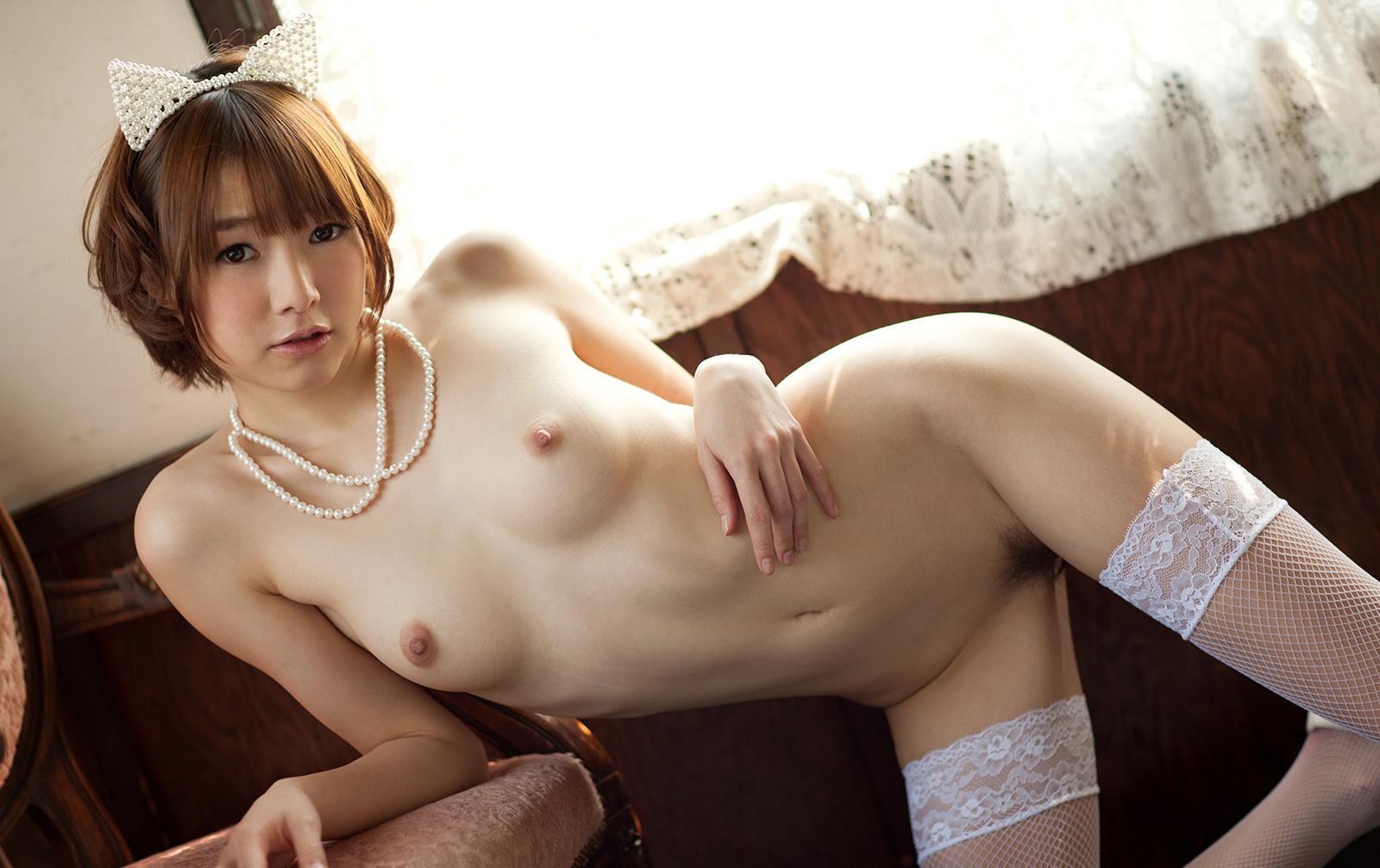 涼川絢音 Eカップ 手足の長い色白ロリ顔で美少女な着エロアイドルAV女優画像 107枚 No.107