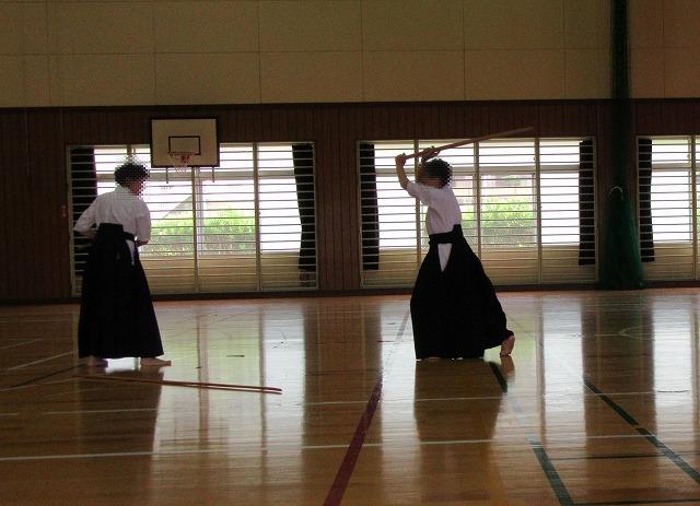 薙刀お稽古県外NO2 27.8.6