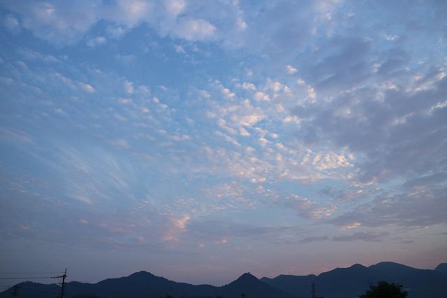 日の出前貴峰山 27.8.16