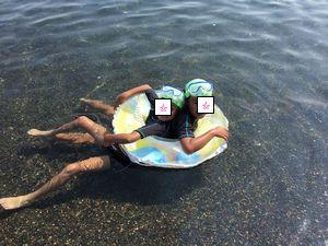 026いるか浜浮き輪