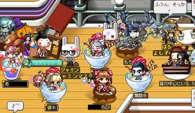 カフェで響さん座談会