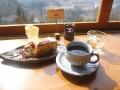 コーヒーと季節のデザート