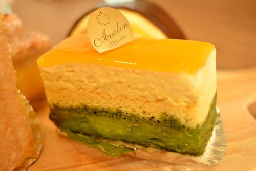 【名古屋_ケーキ】アヴァロン「抹茶とオレンジ」 (2)