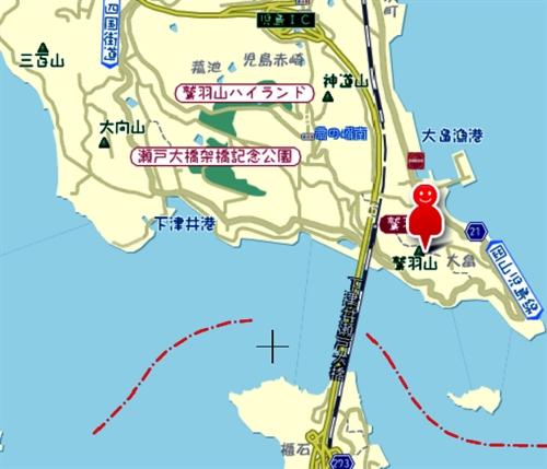 1地図下津井