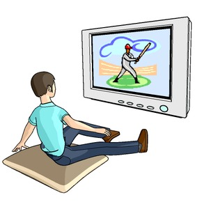 TV野球観戦