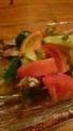炙りシシャモのせサラダ