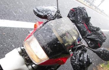 2015年 元旦 国道16号線 町田相模原八王子 FZ250PHAZER YSP‐LIMITED 大雪着雪