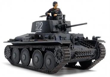 タミヤ「1/48 ドイツ軽戦車 38(t)E/F 型」テストショット体験会を開催