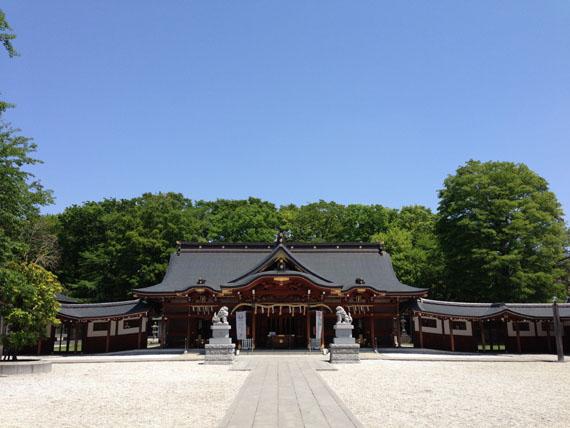諏訪神社(立川)13