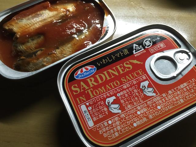 鰯トマト缶