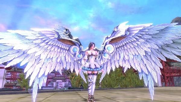 基本無料の超軽快×超巨大ファンタジーMMORPG『ウェポンズオブミソロジー』 お帰りイベント開催中!ゴージャスな翼をまとえる「翼の宝具箱」も登場