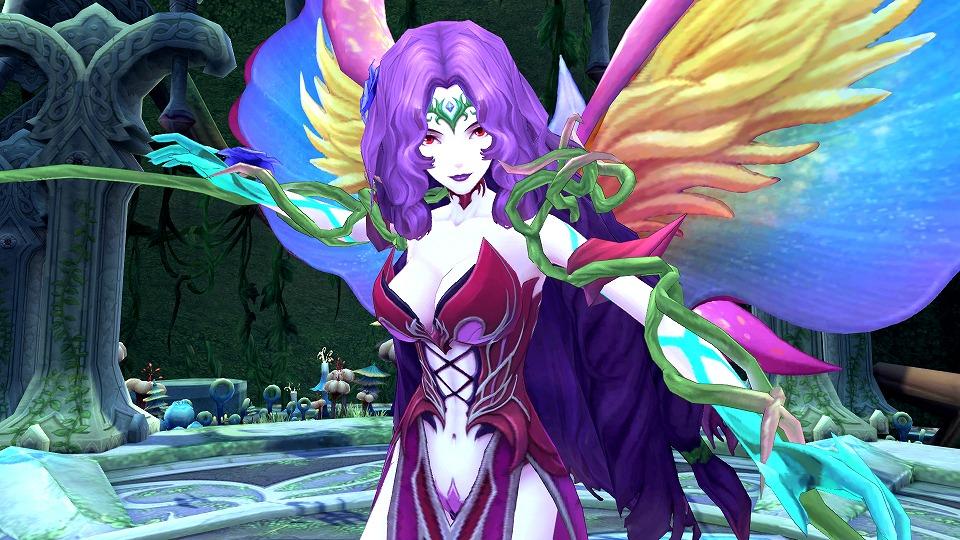 基本プレイ無料のアニメチックファンタジーオンラインゲーム『幻想神域 –Cross to Fate-』 イケメン幻神「バハムート★3進化スタイル」を8月19日に実装だ