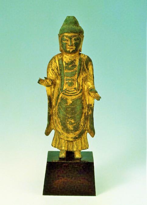 金銅如来立像 統一新羅時代