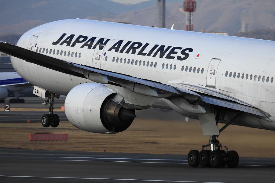 JAL B777-346 / JAL2087 (JA8941)@伊丹スカイパーク