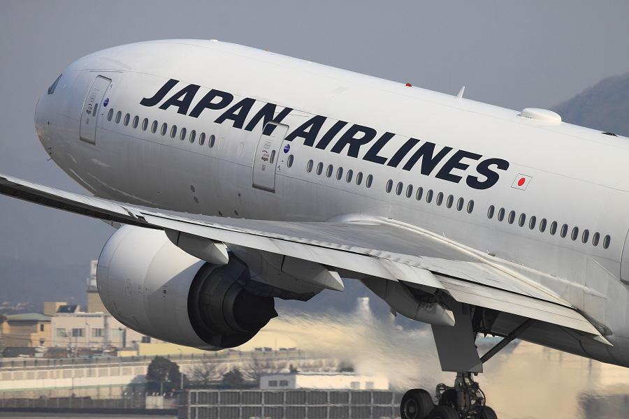 JAL B777-289 / JAL110 (JA8978)@伊丹スカイパーク