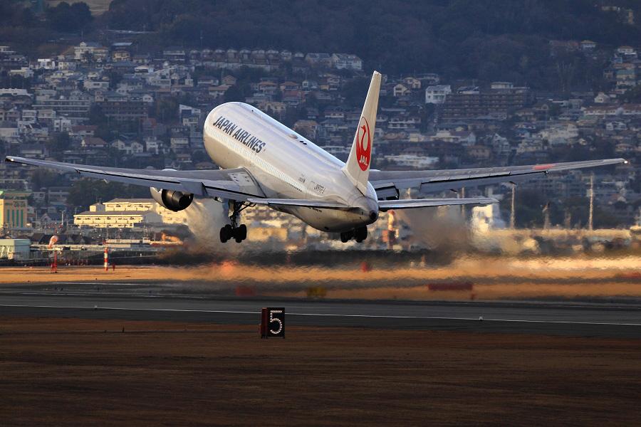 JAL B767-346ER / JAL126 (JA602J)@伊丹スカイパーク
