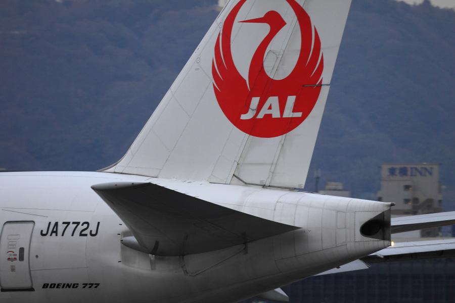 JAL B777-246 / JAL125 (JA772J)@伊丹スカイパーク