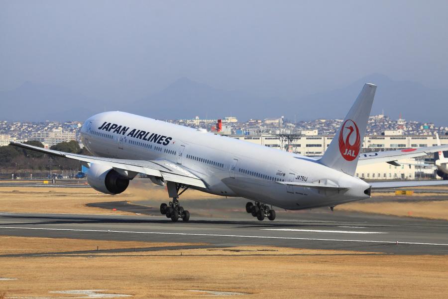 JAL B777-346 / JAL2081 (JA751J)@伊丹スカイパーク