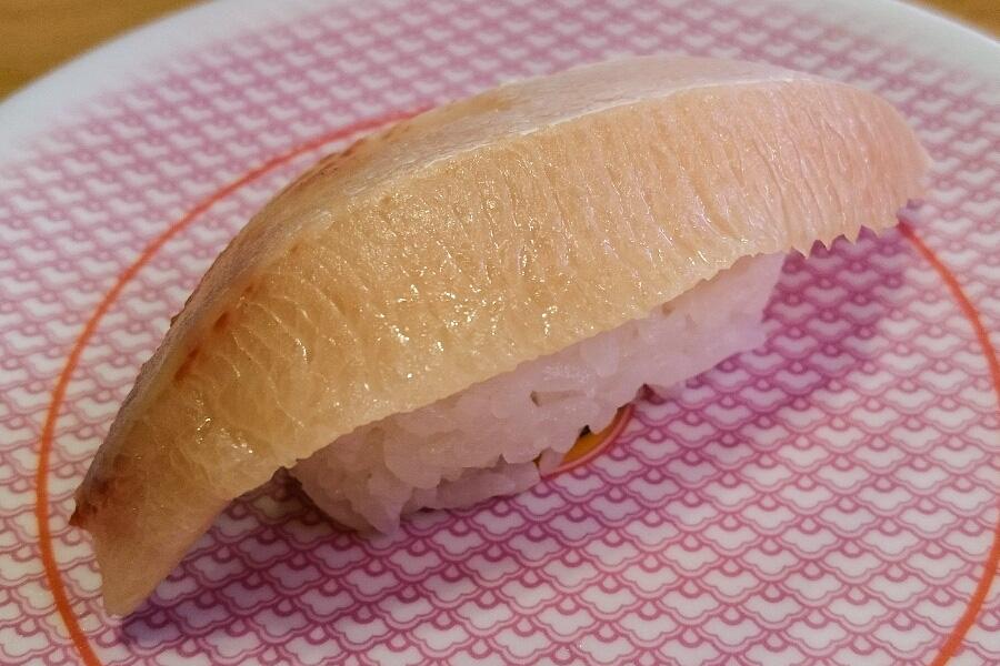 お値打ち一貫・ブリトロ@かっぱ寿司