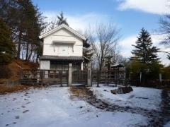 1月16日 教会の門の前の様子