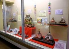 おひなさまの展示2015