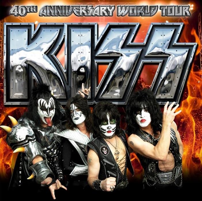 KISS40周年ポスター
