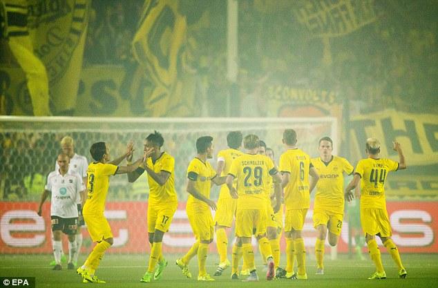 Mkhitaryans winner gives Dortmund the advantage ahead of the second leg