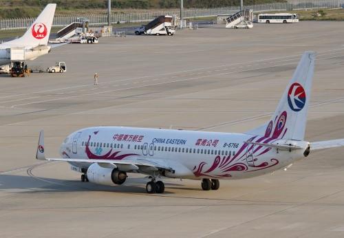 中国東方航空 紫孔雀塗装機 2
