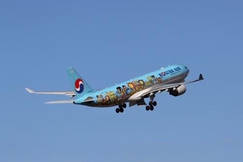 大韓航空a330 特別塗装機-2