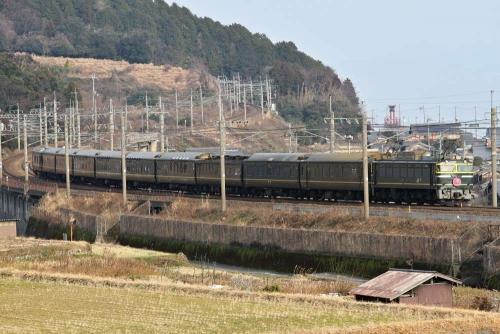 2015年1月25日9002レトワイライトエクスプレス @近江高島~北小松