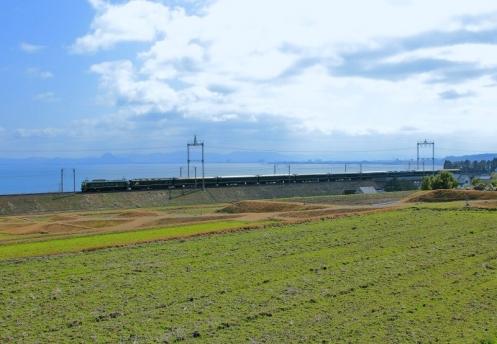 2015.3.8 8001レ トワイライトエクスプレス 滋賀~蓬莱