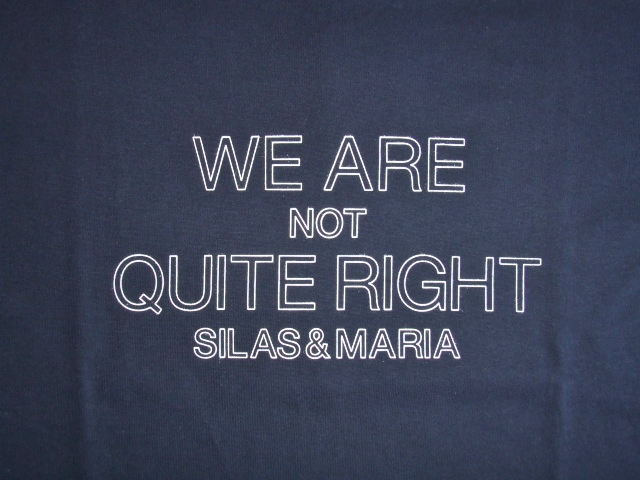 SILAS WE ARE NOT SS TEE NAVY