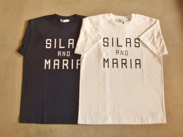 SILAS AND MARIA SS TEE