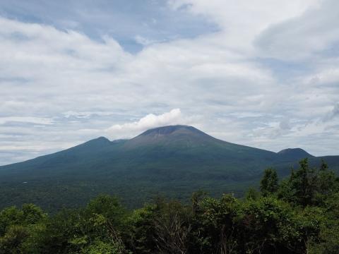 離山から浅間山