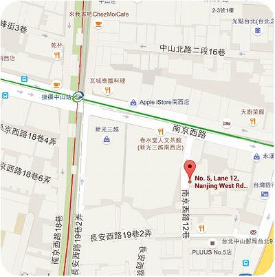 樺慶川菜餐廳地図