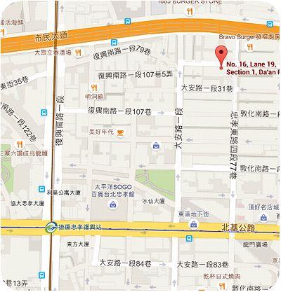 樂樂咖啡地図