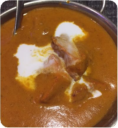 饗印印度料理餐廳バターチキン