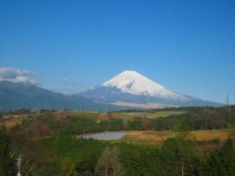 三島からの富士山