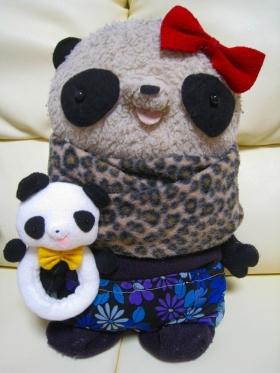 パンダにぎにぎ&おばぶ