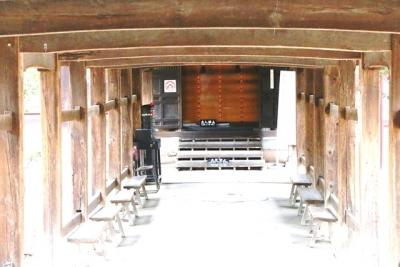 鳴釜神事の御釜殿