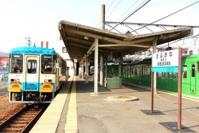 信楽高原鐡道貴生川駅