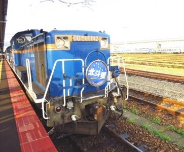 北斗星DD51形ディーゼル機関車